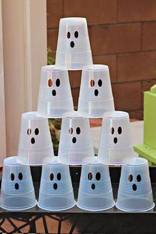 Plastične tarče - igre za noč čarovnic