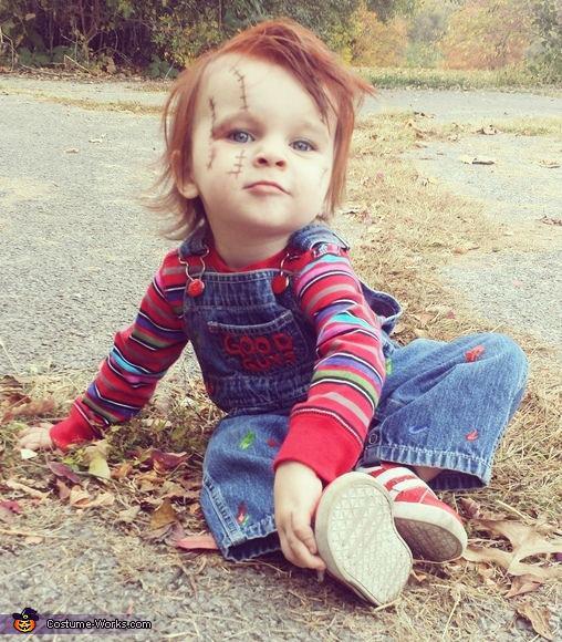 Kostum za noč čarovnic - lutka Chucky - civcav.si