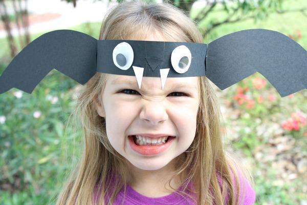 Kostum za noč čarovnic - netopirska maska - civcav.si
