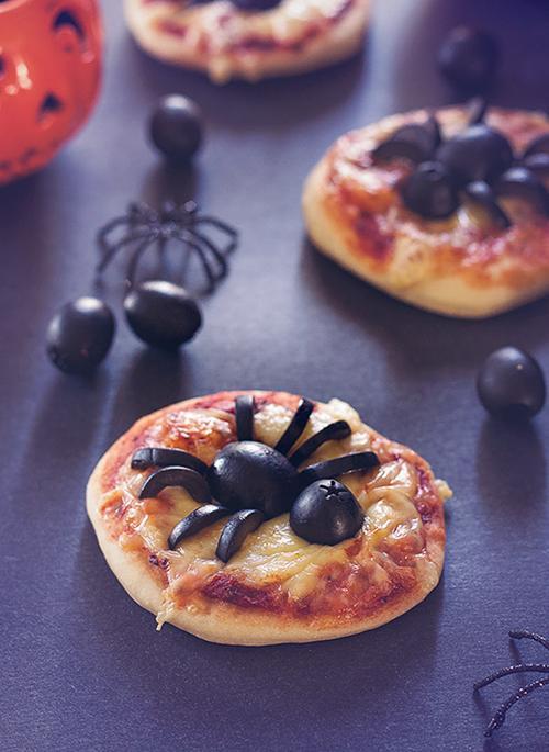 Pica pajek - prigrizek za zabavo za noč čarovnic