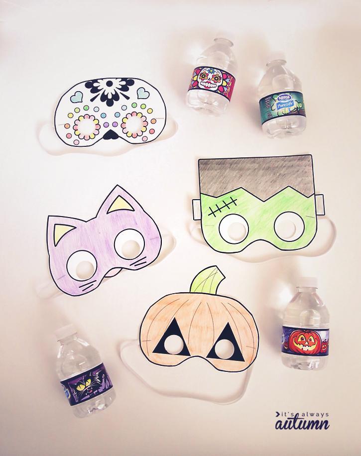 Kostum za noč čarovnic - maske - civcav.si