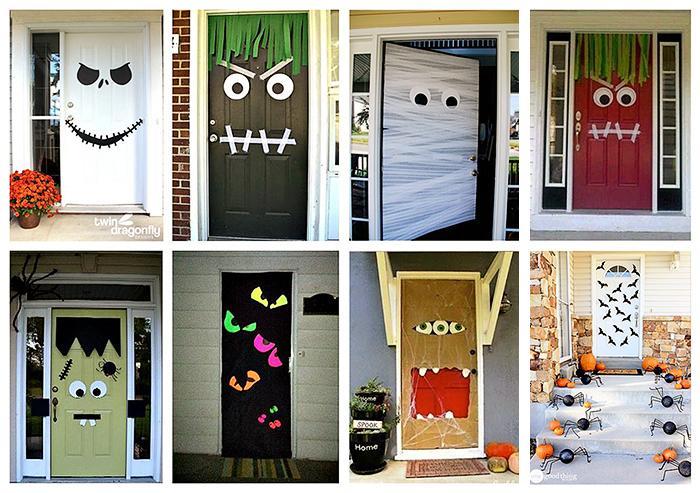 Vrata za noč čarovnic - civcav.si