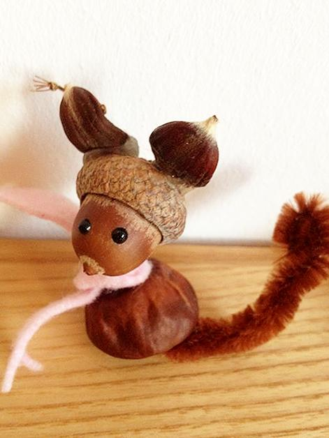 Veverica - živalice iz kostanja - civcav.si