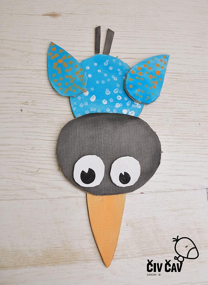 Ptički iz kartona številka 3 - civcav.si