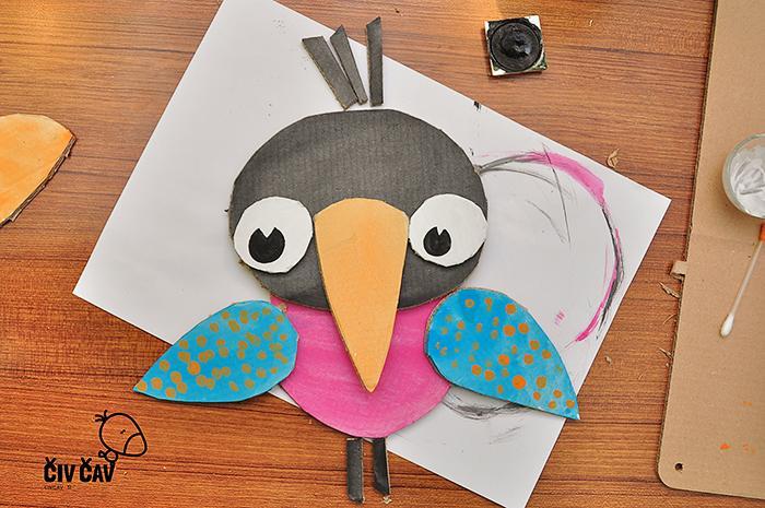 Ptički iz kartona številka 5 - civcav.si
