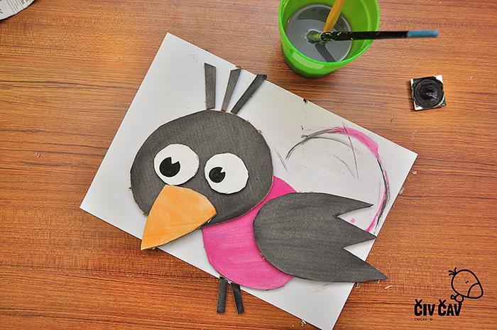 Ptički iz kartona številka 6 - civcav.si