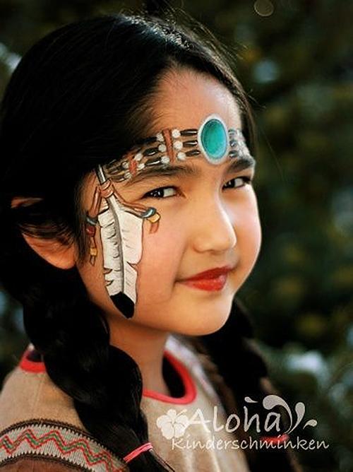 Pustna maska indijanka - civcav.si