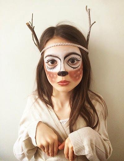 Pustna maska jelen - civcav.si
