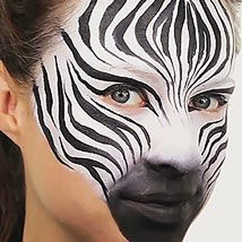 Pustna maska zebra - civcav.si