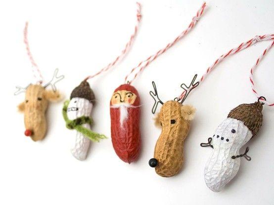 Naravni božični okraski - kikirikiji - civcav.si