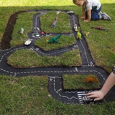 Poletne otroške igre - steza za avtomobile - civcav.si