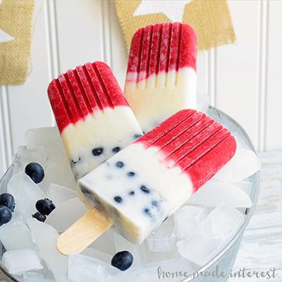 Sladoledne lučke - belo, modro, rdeča - civcav.si