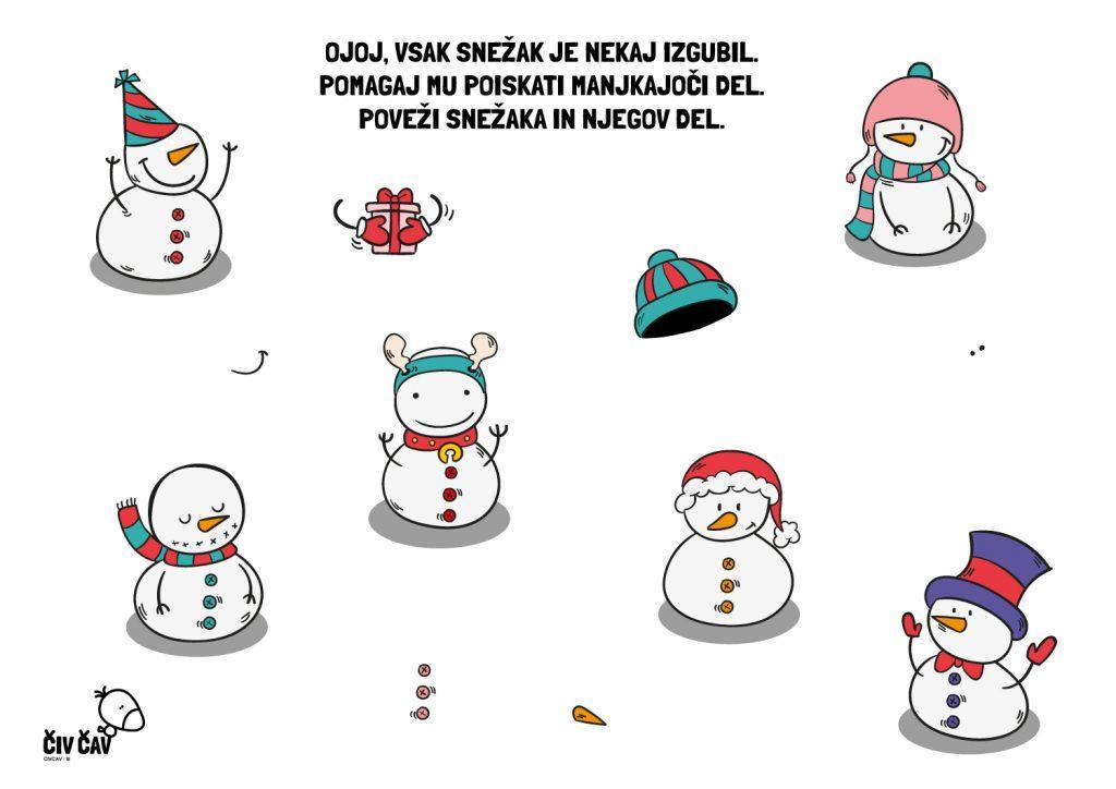 Snežaki - civcav.si
