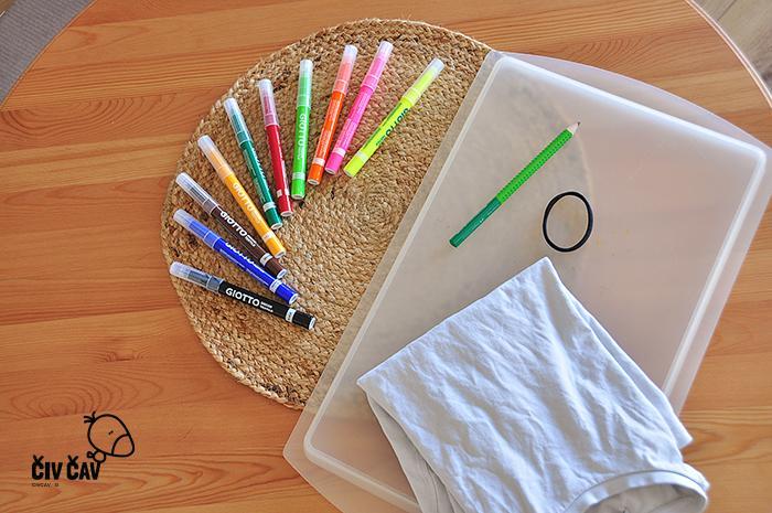 Kaj potrebujemo za risanje na tekstil - civcav.si